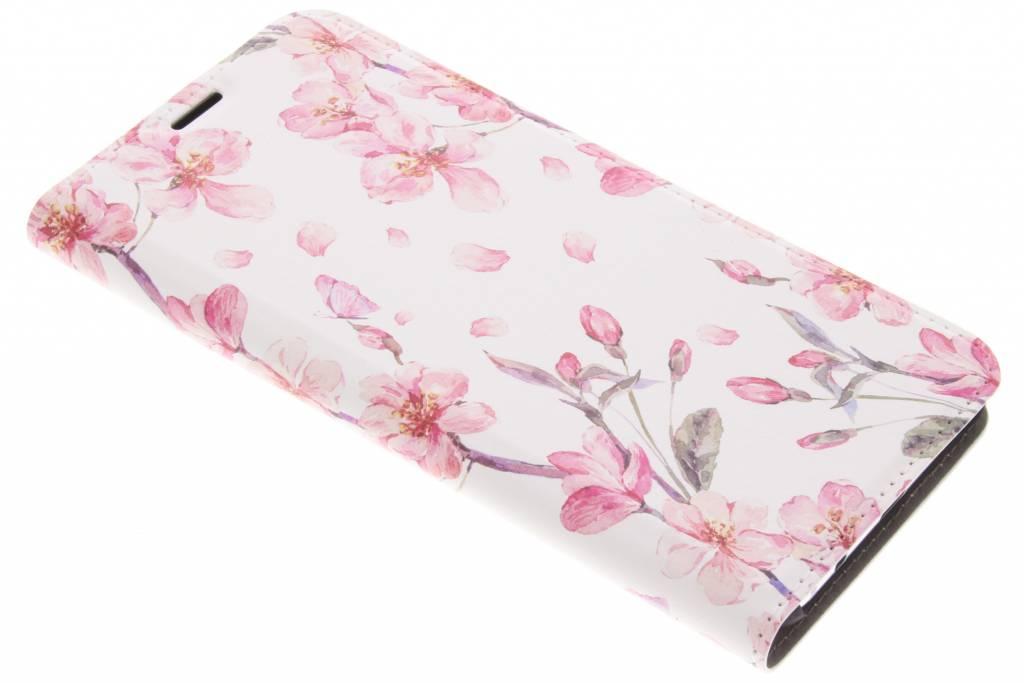 Design Hardcase Booktype voor Samsung Galaxy S8 Plus - Bloesem Watercolor