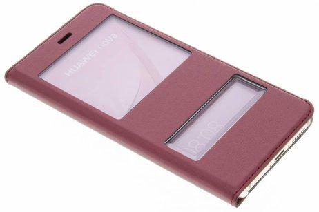 Huawei Nova hoesje - Slim Booktype met venster
