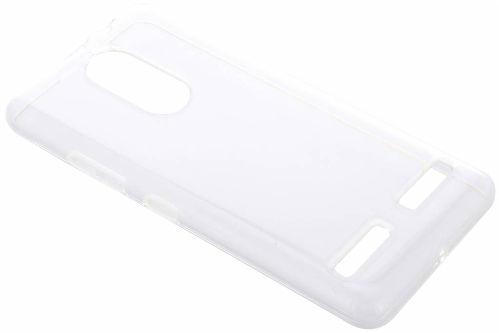 Accezz Clear Backcover voor Lenovo K6 - Transparant