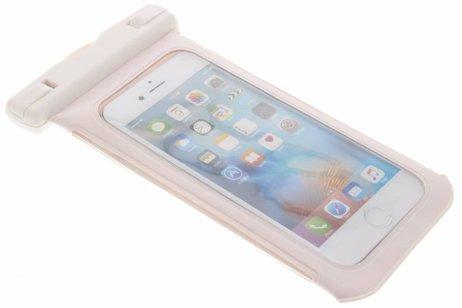 Witte universele waterproof case maat M