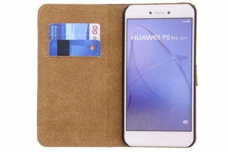 Huawei P8 Lite (2017) hoesje - Selencia Luxe Hardcase Booktype