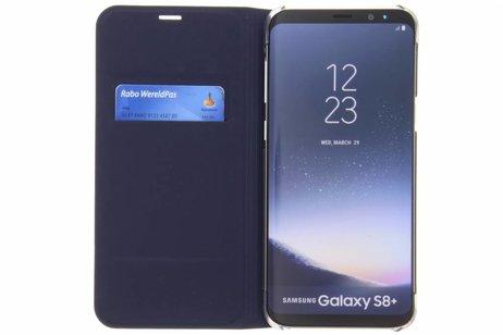 Luxe Slim Booktype voor Samsung Galaxy S8 Plus - Donkerblauw