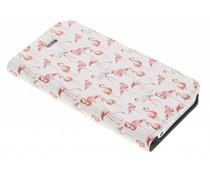 Design Hardcase Booktype iPhone SE / 5 / 5s