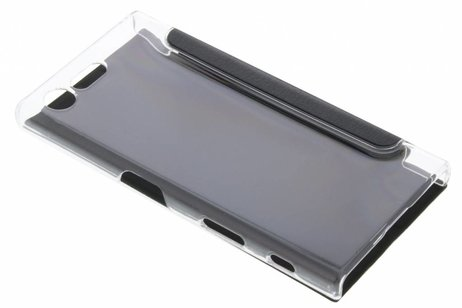 Slim Booktype voor Sony Xperia X Compact - Zwart