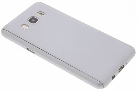 360° Effen Protect Backcover voor Samsung Galaxy J5 (2016) - Zilver