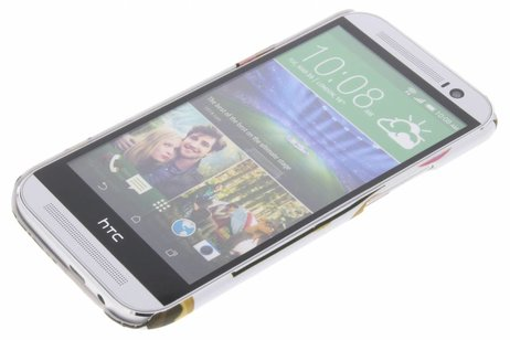 HTC One M8 / M8s hoesje - Design Hardcase Backcover voor