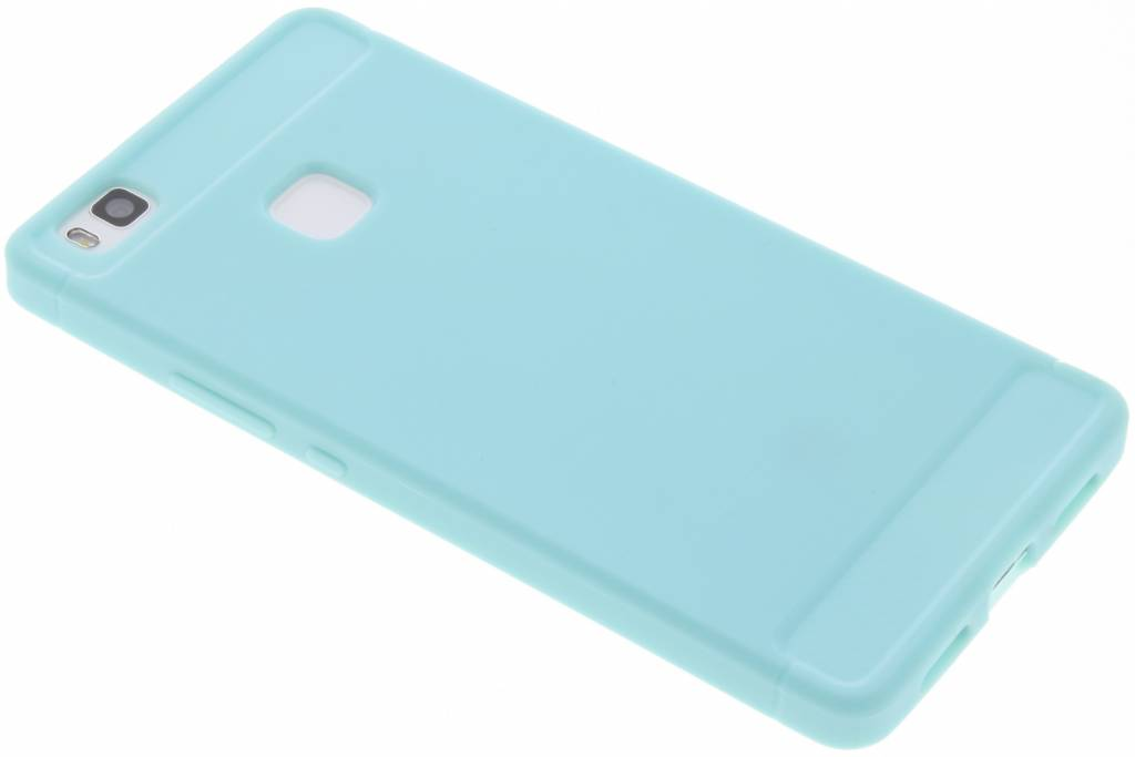 Brushed Backcover voor Huawei P9 Lite - Turquoise