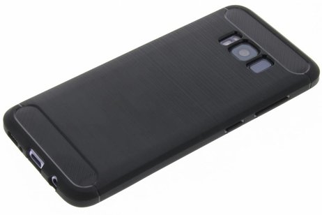 Samsung Galaxy S8 hoesje - Brushed Backcover voor Samsung