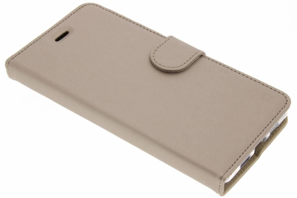 Accezz Wallet Softcase Booktype voor Lenovo P2 - Goud