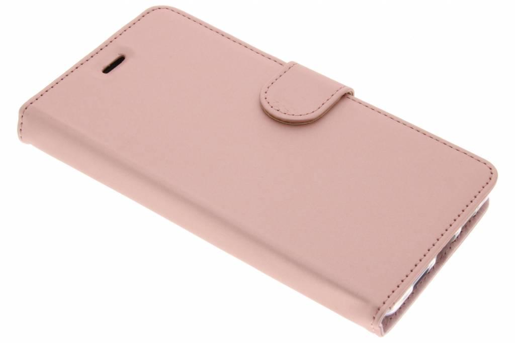 Accezz Wallet Softcase Booktype voor Lenovo P2 - Rosé goud