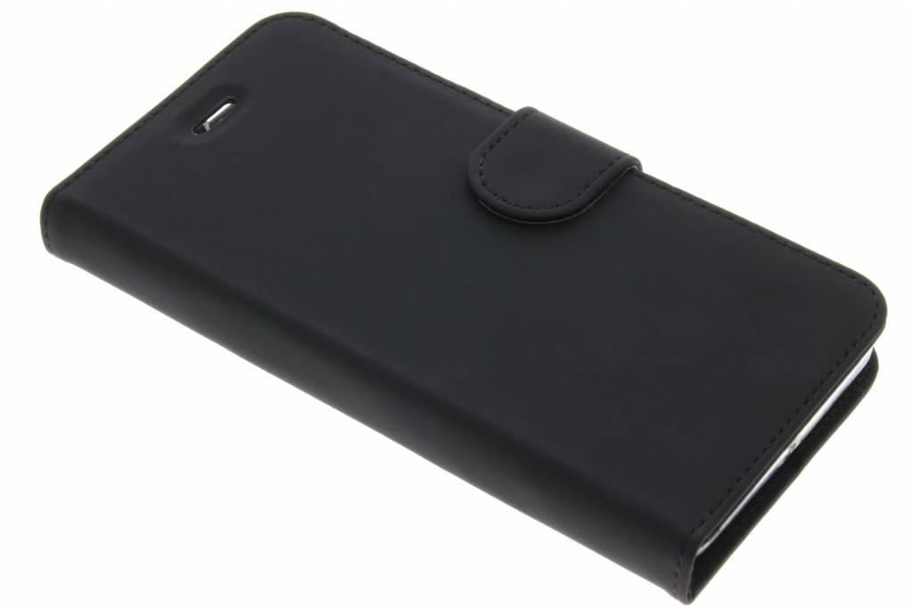 Accezz Wallet Softcase Booktype voor Lenovo K6 - Zwart