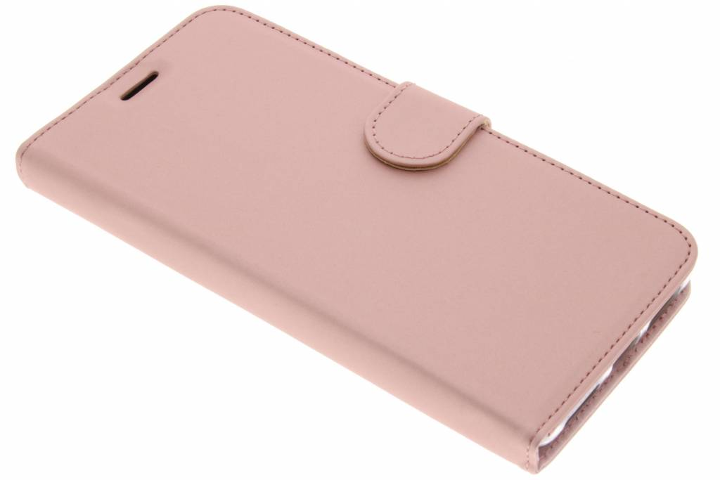 Accezz Wallet Softcase Booktype voor Huawei Mate 9 - Rosé goud