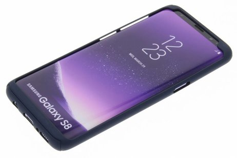 Samsung Galaxy S8 hoesje - 360° Effen Protect Backcover