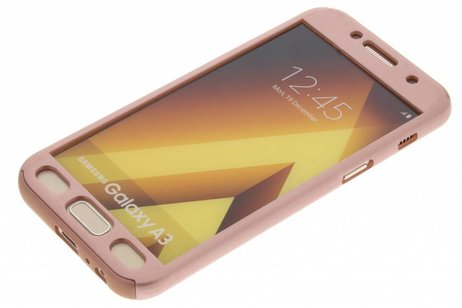 Samsung Galaxy A3 (2017) hoesje - 360° Effen Protect Backcover
