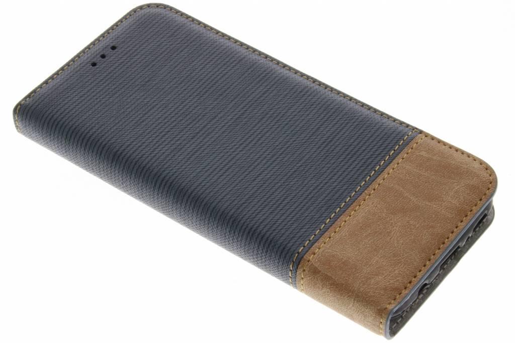 Denim Booktype voor Samsung Galaxy S8 - Donkerblauw