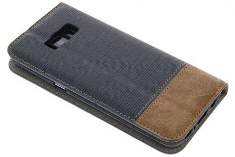 Samsung Galaxy S8 hoesje - Denim Booktype voor Samsung