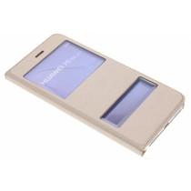Slim Booktype met venster Huawei P8 Lite (2017)