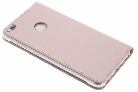 Slim Booktype met venster voor Huawei P8 Lite (2017) - Rosé goud