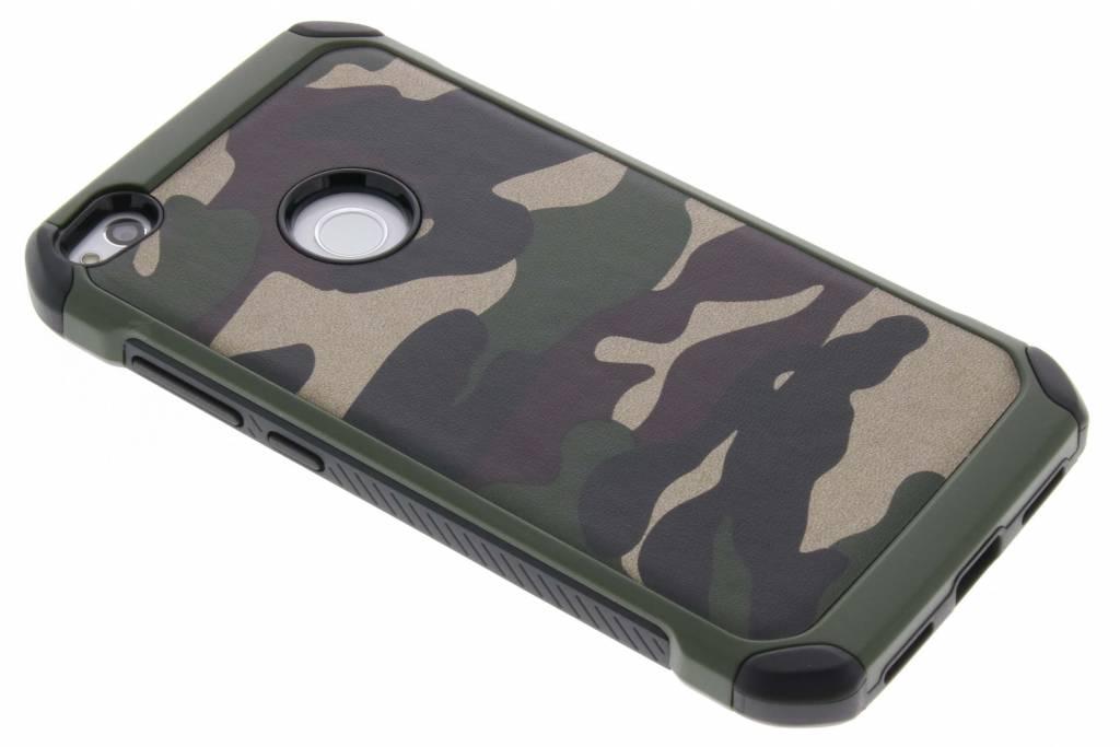 Army Defender Backcover voor Huawei P8 Lite (2017) - Groen