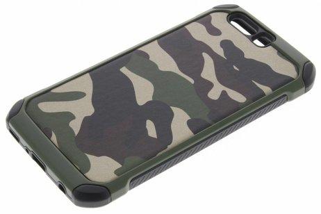 Huawei P10 Plus hoesje - Army Defender Backcover voor