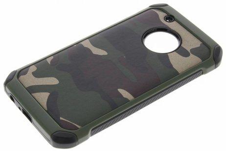 Motorola Moto G5 Plus hoesje - Army Defender Backcover voor