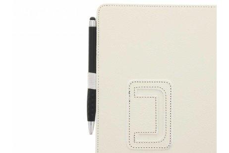 Effen Bookcase voor Samsung Galaxy Tab S3 9.7 - Wit