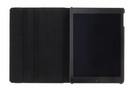 360° Draaibare Bookcase voor iPad (2017) / (2018) - Zwart