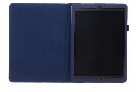 Effen Bookcase voor iPad (2017) / (2018) - Donkerblauw