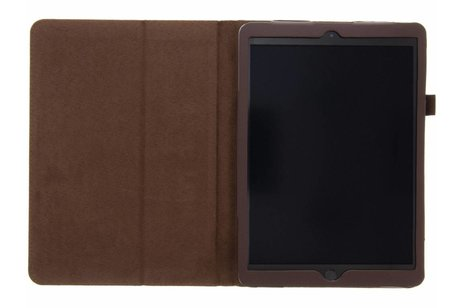 Effen Bookcase voor iPad (2017) / (2018) - Bruin