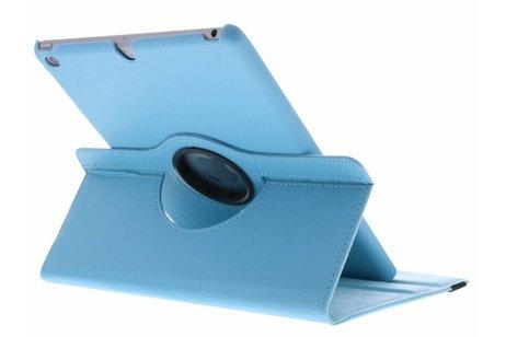 360° Draaibare Bookcase voor iPad (2017) / (2018) - Lichtblauw
