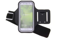 Zwarte sportarmband voor de Huawei P10