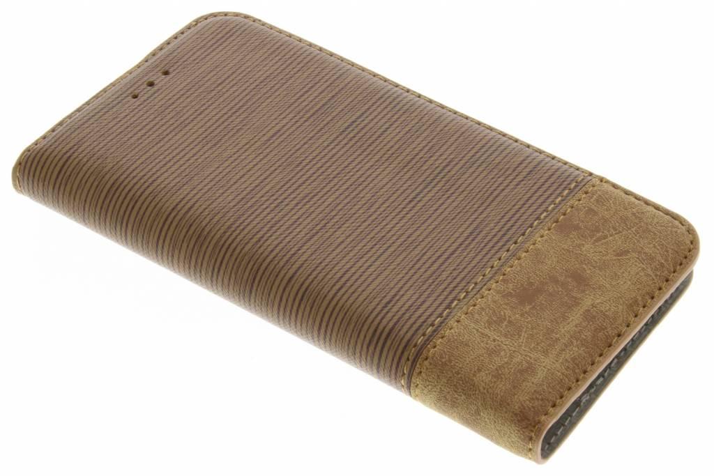 Denim Booktype voor Huawei P10 Lite - Bruin