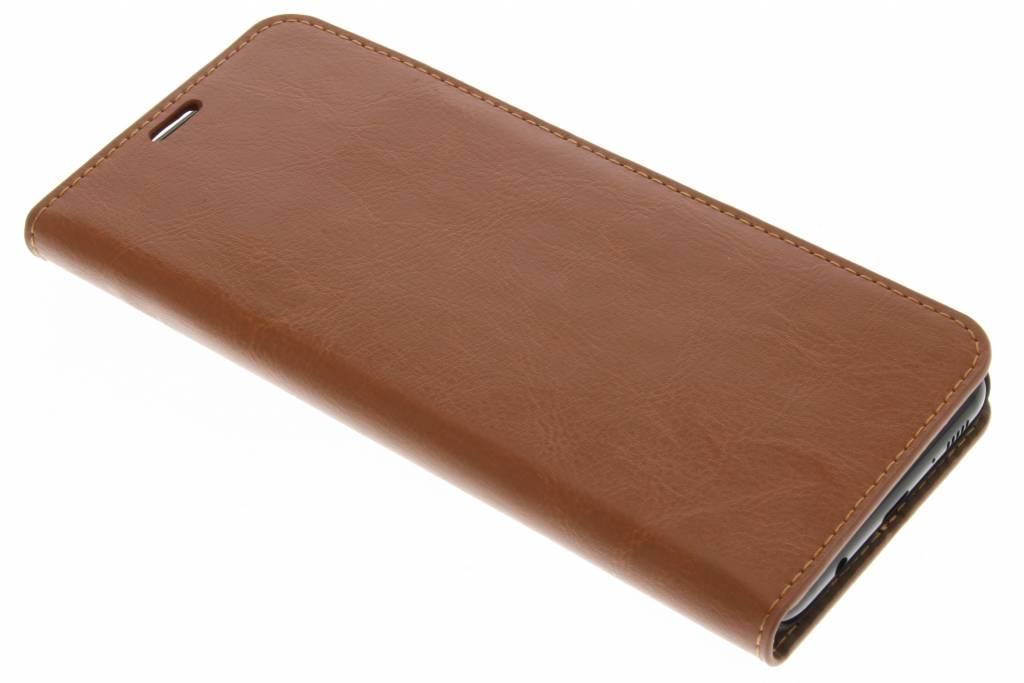 Zakelijke Hardcase Booktype voor Samsung Galaxy S8 Plus - Bruin