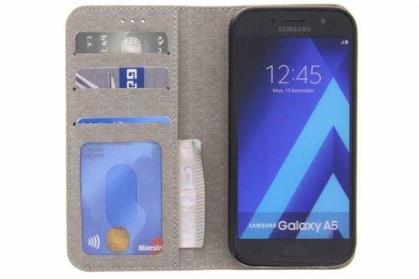Samsung Galaxy A5 (2017) hoesje - Denim Booktype voor Samsung