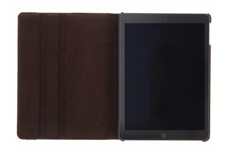 360° Draaibare Bookcase voor iPad (2017) / (2018) - Bruin