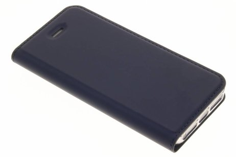 Dux Ducis Slim Softcase Booktype voor iPhone SE / 5 / 5s - Donkerblauw