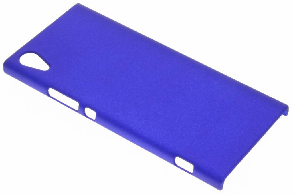 Effen Backcover voor Sony Xperia XA1 - Blauw