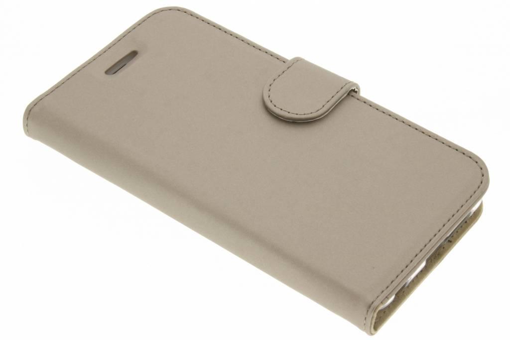 Accezz Wallet Softcase Booktype voor Honor 8 - Goud