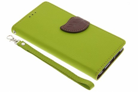 Blad Design Booktype voor Honor 8 - Groen