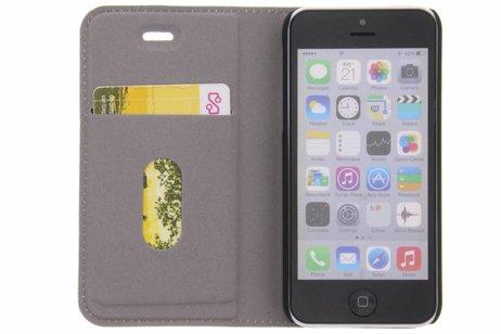 Design Hardcase Booktype voor iPhone 5c - Unicorn