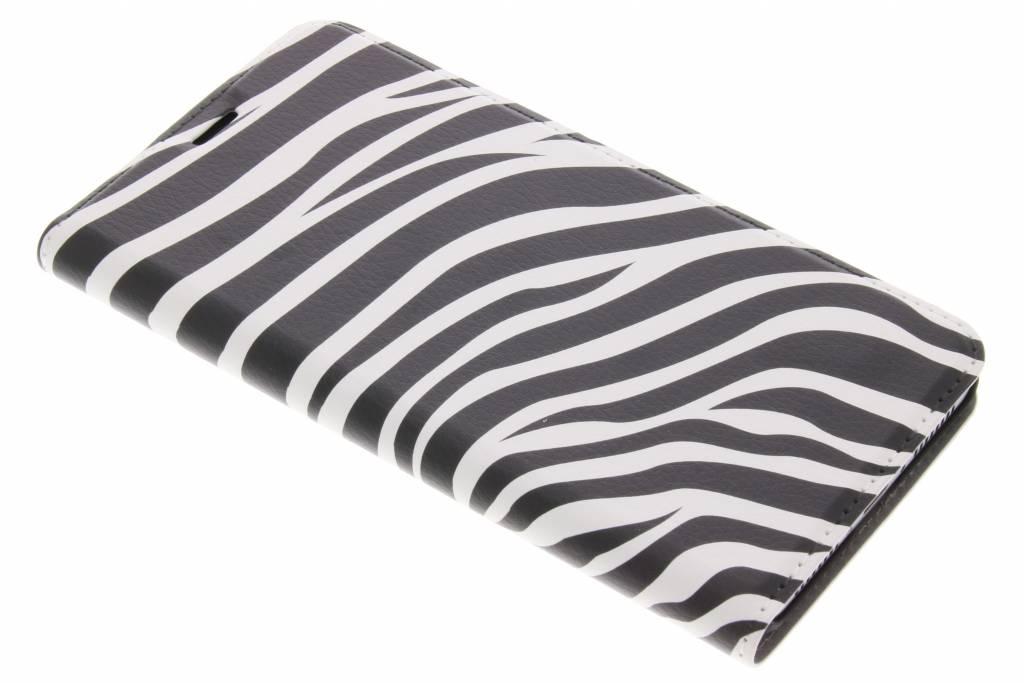 Design Hardcase Booktype voor Huawei Mate 9 - Zebra