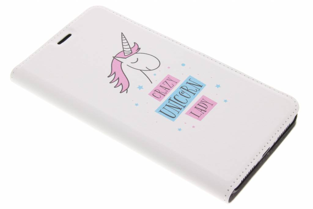 Design Hardcase Booktype voor Huawei Mate 9 - Unicorn