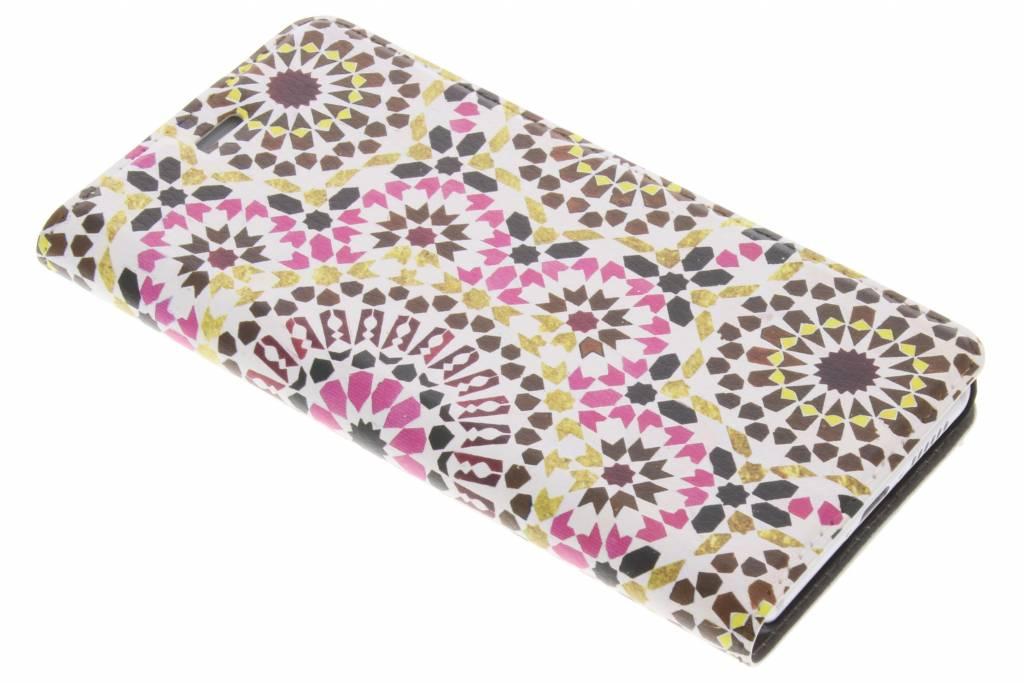 Design Hardcase Booktype voor Huawei Nova - Marrakech Pink