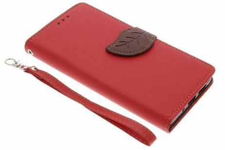 Huawei P10 Lite hoesje - Blad Design Booktype voor