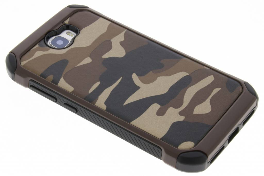 Army Defender Backcover voor Huawei Y5 2 / Y6 2 Compact - Bruin