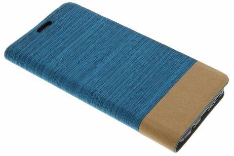 Denim Booktype voor Samsung Galaxy S8 Plus - Lichtblauw