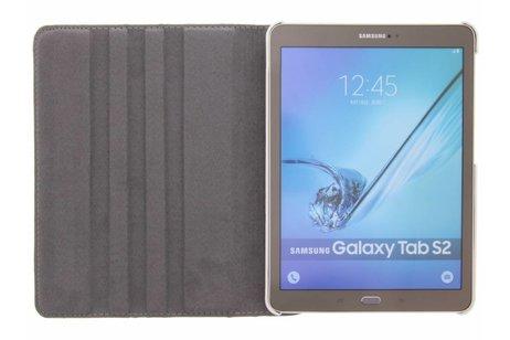 360° Draaibare Design Bookcase voor Samsung Galaxy Tab S2 9.7 - Spikkel