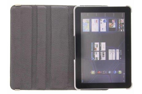 360° Draaibare Design Bookcase voor Samsung Galaxy Tab 2 10.1 - Spikkel
