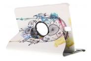 360° Draaibare Design Bookcase voor Samsung Galaxy Tab S3 9.7