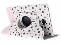 360° Draaibare Design Bookcase voor Samsung Galaxy Tab A 10.1 (2016) - Spikkel